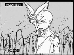 Avatar (The awesome cartoon series and not the boring James Cameron Movie) Animatic