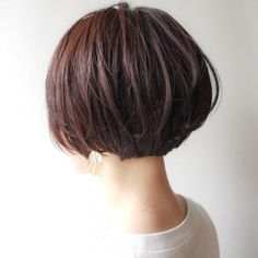 Boy Hairstyles, Short Bob Hairstyles, Curled Hairstyles, Girl Short Hair, Short Hair Cuts, Short Hair Styles, Japanese Short Hair, Best Short Haircuts, Haircut And Color