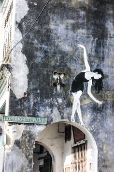 Penang is for Street Art and Hawker Centre Lovers