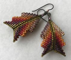 Nancy Jenner - inspired by Contemporary Geometric Beadwork