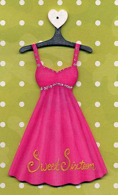 Pink Sweet Sixteen Dress Ornament
