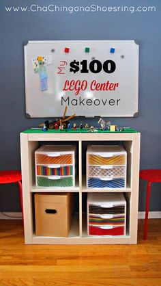 Our LEGO situation was a problem. Here's how I transformed our mess with $100 and renewed the LEGO love in our house!