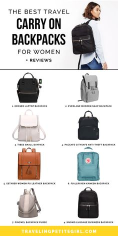 travel backpacks for women \ travel backpack . travel backpacks for women . travel backpack carry on . travel backpacks for women carry on . travel backpack for men . travel backpacks for women vacations Best Travel Bags, Travel Bags For Women, Travel Purse, Backpack Purse, Laptop Backpack, Travel Tips, Backpack Outfit, Travel Checklist, Travel Info