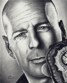 Bruce Willis great sketch!!