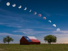 """""""The transition of the lunar eclipse, also known as"""