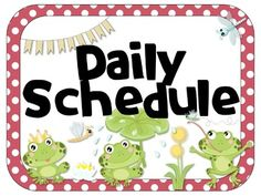 Frog Theme Editable Daily Schedule | Analog & Digital Make your daily schedule hop with this Frog theme set of 20 already labeled subject cards. This pack includes a set with areas for digital and analog times, as well as plain sets with only the subject label. Also includes a blank, editable page to add subjects not already listed. Great for any fun, hopping classroom!