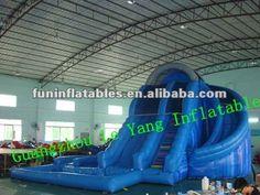 corkscrew inflatable waterslide/ inflatable water slide