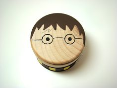 My Little Wizard  Box  Hand Painted Wood Box by Pegged on Etsy, $12.00