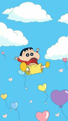 I 'm flying Sinchan Wallpaper, Cartoon Wallpaper Iphone, Anime Scenery Wallpaper, Cute Disney Wallpaper, Kawaii Wallpaper, Hd Cute Wallpapers, Doraemon Wallpapers, Cute Cartoon Pictures, Cartoon Images