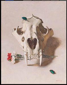 Stephen Rose - Lion Skull  http://www.stephenrose.org.uk/