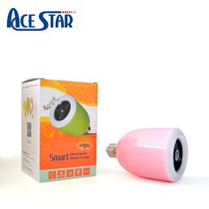 LED Bluetooth Colored Light Bulb with Speaker
