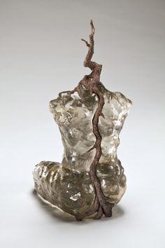 Les corps sylvestres III (2011)  Carole Pilon-  I adore her work.