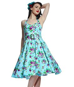 Hell Bunny 50'S May Day Floral Dress Turquoise - US 6 (XS) Tiger Milly http://www.amazon.com/dp/B00L8W1RQU/ref=cm_sw_r_pi_dp_Mq.9ub13A4G5D