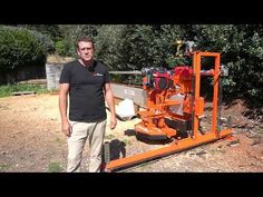 Portable Chainsaw Mill, Wood Lumber, Electric Power, Blade, The Incredibles, Design, Ideas, Thoughts