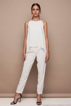 Super Moda Mujer Oficina Verano Ideas Source by godesstudio Outfits oficina White Outfits, Summer Outfits, Casual Outfits, Fashion Outfits, Womens Fashion, Fashion Moda, Fashion Ideas, Office Fashion, Work Fashion