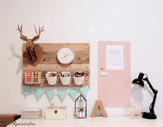 Diy: Tablón organizativo de pared