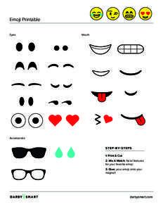 printable emoji eyes - Google Search