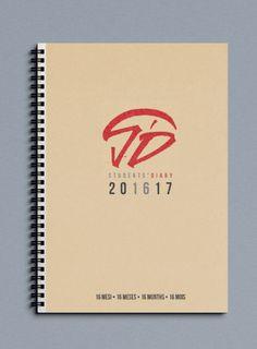 Agenda ecologica in carta reciclata 16 mesi per studenti Officina Grafica Editoriale