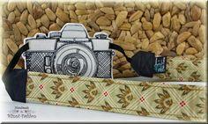 Kameraband / Kameragurt für Spiegelreflexkamera von BlinniFashion