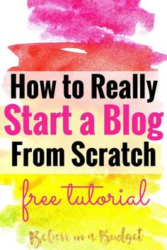 In 10 months, my blog went from 1,000 page views to 160,000 page views. I'm sharing how to start a brand new blog