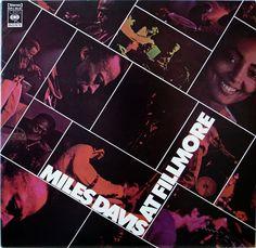 MILES DAVIS / AT FILLMORE / JAZZ / CBS SONY JAPAN 2 LPs