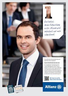 Meine Entwicklung in der Allianz wird individuell auf mich abgestimmt: http://www.allianz.ch/karriere