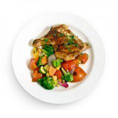 Fitness Model Diet Food