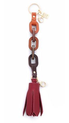 Sophie Hulme Craft Tassel Bag Charm