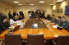 Vista general de la reunión de trabajo en la Dirección General de Tráfico. Dirección General de Tráfico. Madrid, 06.04.2015