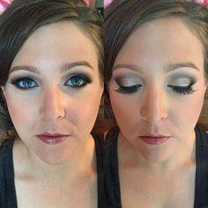 Smokey Eye, Cool toned makeup for blue eyes and light skin, Bridal Party Makeup, Bridesmaid Makeup, Buxom, Mac, Smashbox, Urban Decay, Makeup Forever www.TeaseandMakeup.com