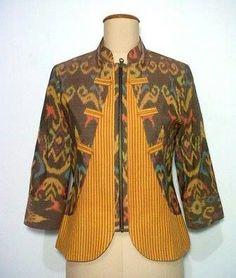 Batik Blazer, Blouse Batik, Batik Dress, Blouse Dress, Batik Fashion, Ethnic Fashion, Hijab Fashion, African Fashion, Fashion Outfits