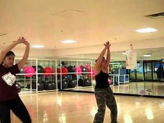 Hips don't lie Zumba video Reminds me of Zumba with my BESTIES at Estep gym!!!! Love zumba