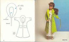 Las chorradikas de Laury: Patrones de ropa para Barbie