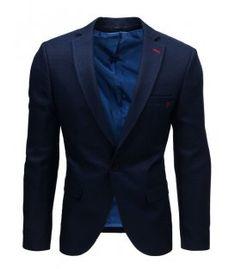 Modré pánske sako Suit Jacket, Breast, Blazer, Suits, Jackets, Fashion, Down Jackets, Moda, Fashion Styles