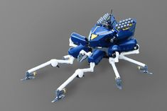 Lego Bots, Bionicle Heroes, Lego Mechs, Hero Factory, Tank Design, Lego Creations, Warfare, Legos, Projects To Try