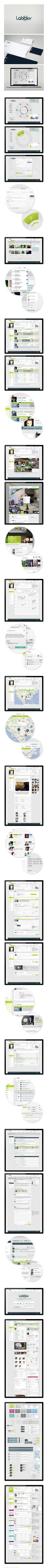 Labbler Music Community Interface - by Martin Oberhäuser
