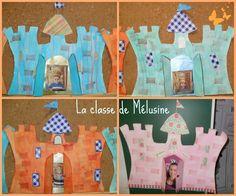 châteaux scrap Collage