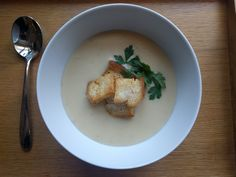 Garlic Soup with Croutons - World Food Tour
