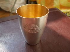 VINTAGE TALLIN USSR RUSSIA SILVER 875 4ТЮ wineglass 59 gr.RARE  #InternationalSilver