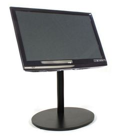 CiERA EZ StandShort™ - Black Portable Tv Stand, Black, Black People