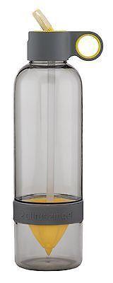 Citrus Zinger Sport Cap Fruit Water Infuser - Active Infusion Juicer for Best...