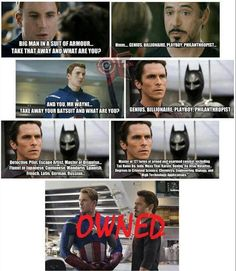 Batman got it! :D