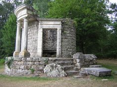 A folly is a building constructed primarily for decoration. Follies were an important feature of the English garden and French landscape garden in the 18th century.