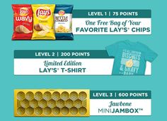 Earn freebies from Lay's https://www.dousaflavor.com/ambassadors/2fa9e7dc03/0