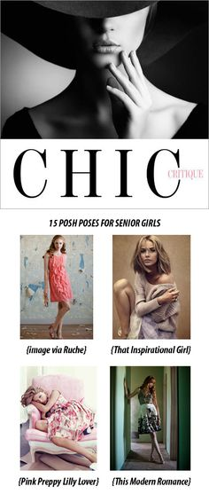 15 Posing Ideas for Senior Girls