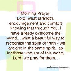 Morning Prayer Quotes Morning Prayer  Daily Prayers From The Heart  Pinterest  Morning .