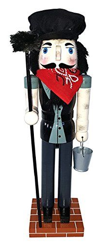 Santas Workshop 70876 Chimney Sweep Nutcracker 14  ** More info could be found at the image url.