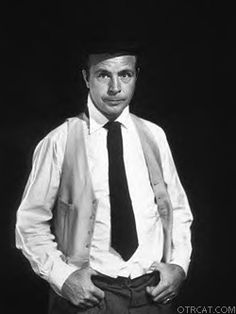 """Richar Diamond starring Dick Powell.First came Rogue's Gallery *where I know him from originally*in 1945-46. Richard Rogue was a working stiff kind of a private eye, and had a quick tongue. A guy talking in an echo chamber sounding like Arnold Stang is """"Eugor"""", some kind of an unconscious voice that gets mixed up in the episodes. Rogue's Gallery was just a warm up for Richard Diamond, a series that took the best of the Richard Rogue character and made it even more suave and swinging by placing Diamond in New York City and giving him a Park Avenue girlfriend that purrs like a Jaguar. Richard Diamond began in 1949, and took off as one of the most popular private eye shows on network radio, right up there with Yours Truly, Johnny Dollar and Phillip Marlowe, Private Eye. Actually, Powell had made the pilot episode for the Marlowe show, but luckily for all concerned, he passed it up and did the Richard Diamond show instead."""