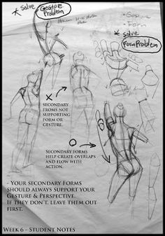 Student Notes - Analytical Figure Drawing SP08