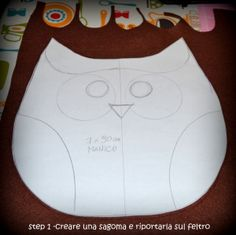 Borsa gufo... tutorial ! Owl bag ... tutorial